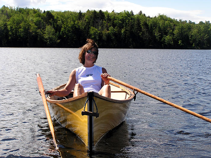 12 ft vermont packboat row boats packboats guideboats for Guide boat