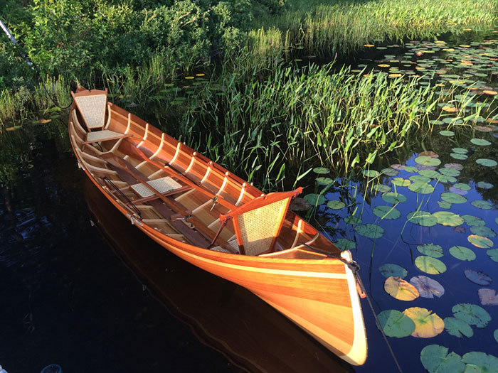Cedar Guideboat