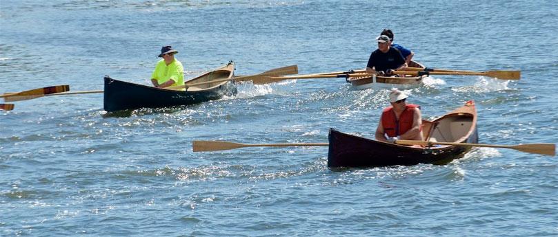 Adirondack Guideboat racing
