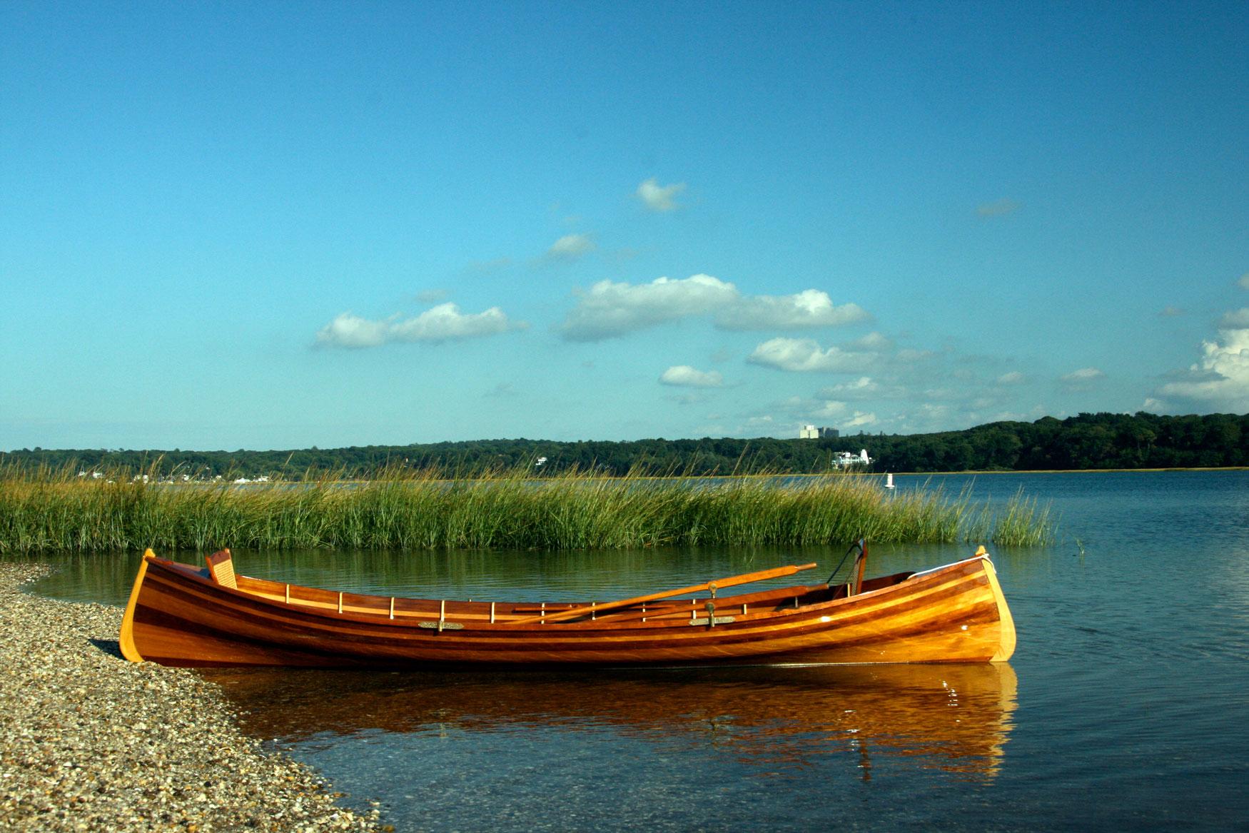 Adirondack Guide boat - Cedar Guideboat