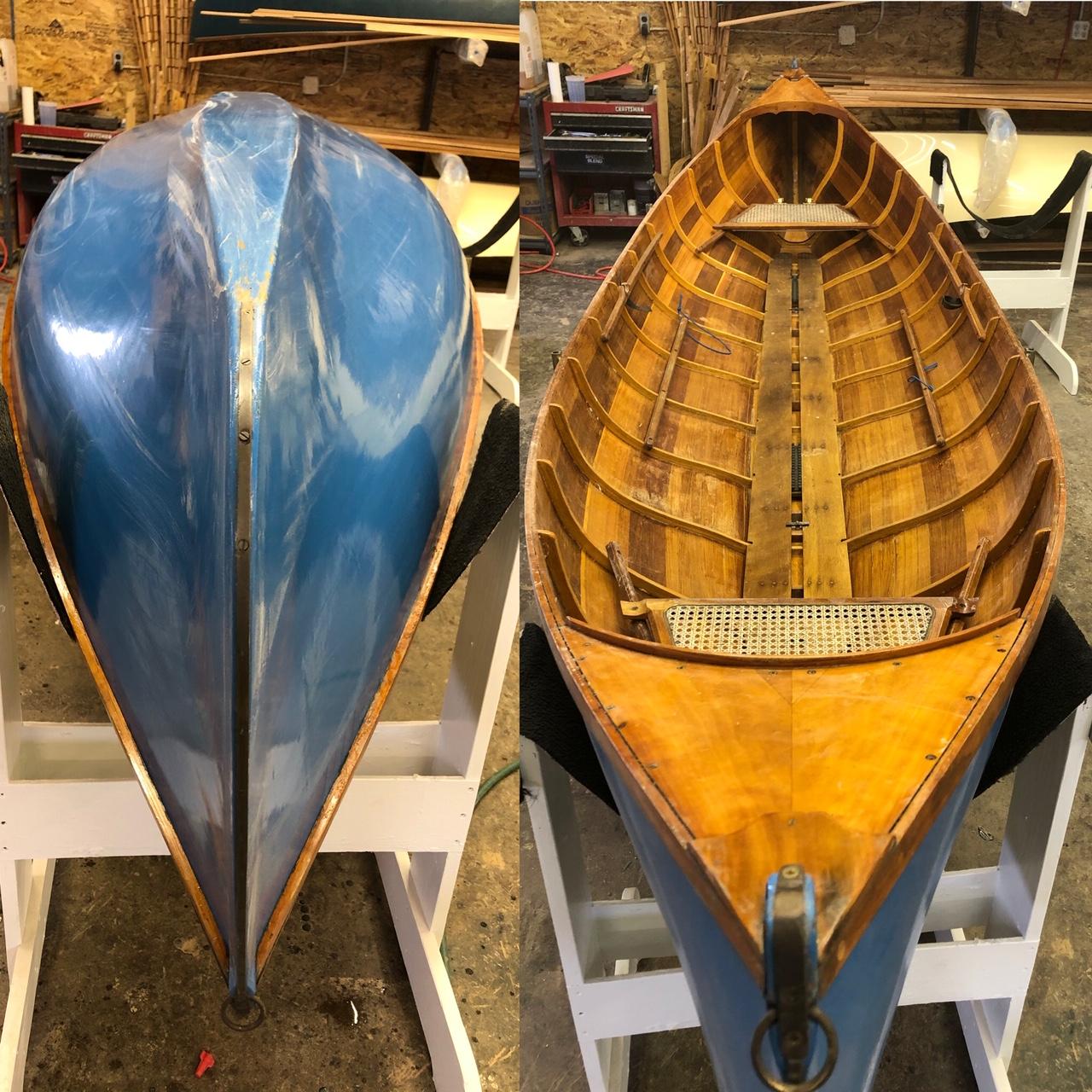 15' Cedar Adirondack Guide Boat (Used)