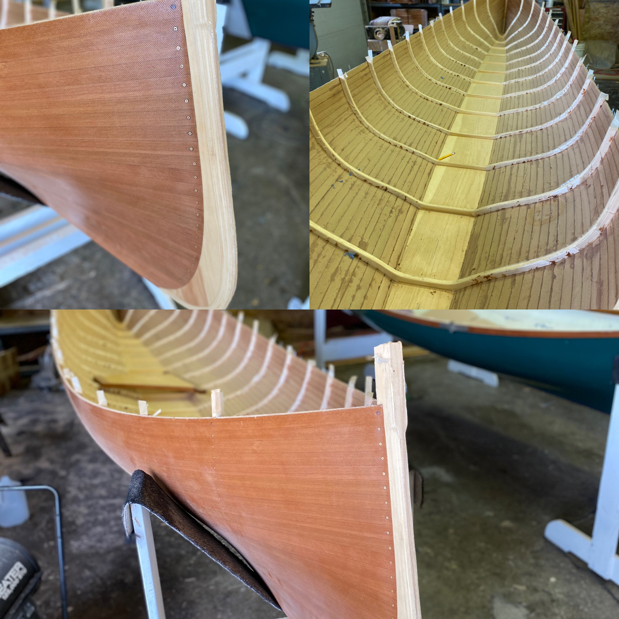 17' Cedar Adirondack Guide Boat (New, Under Construction)