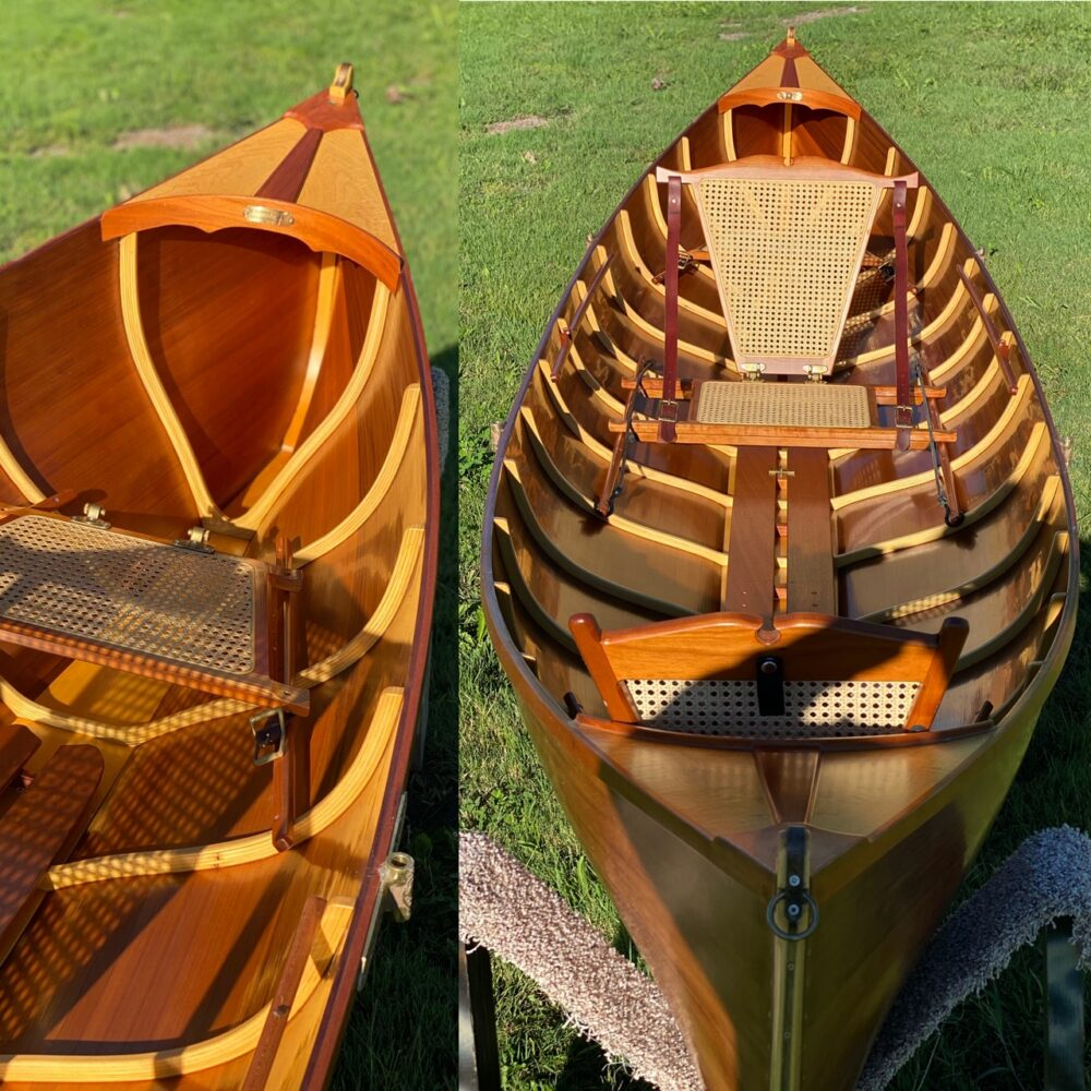 16' Cedar Adirondack Guide Boat