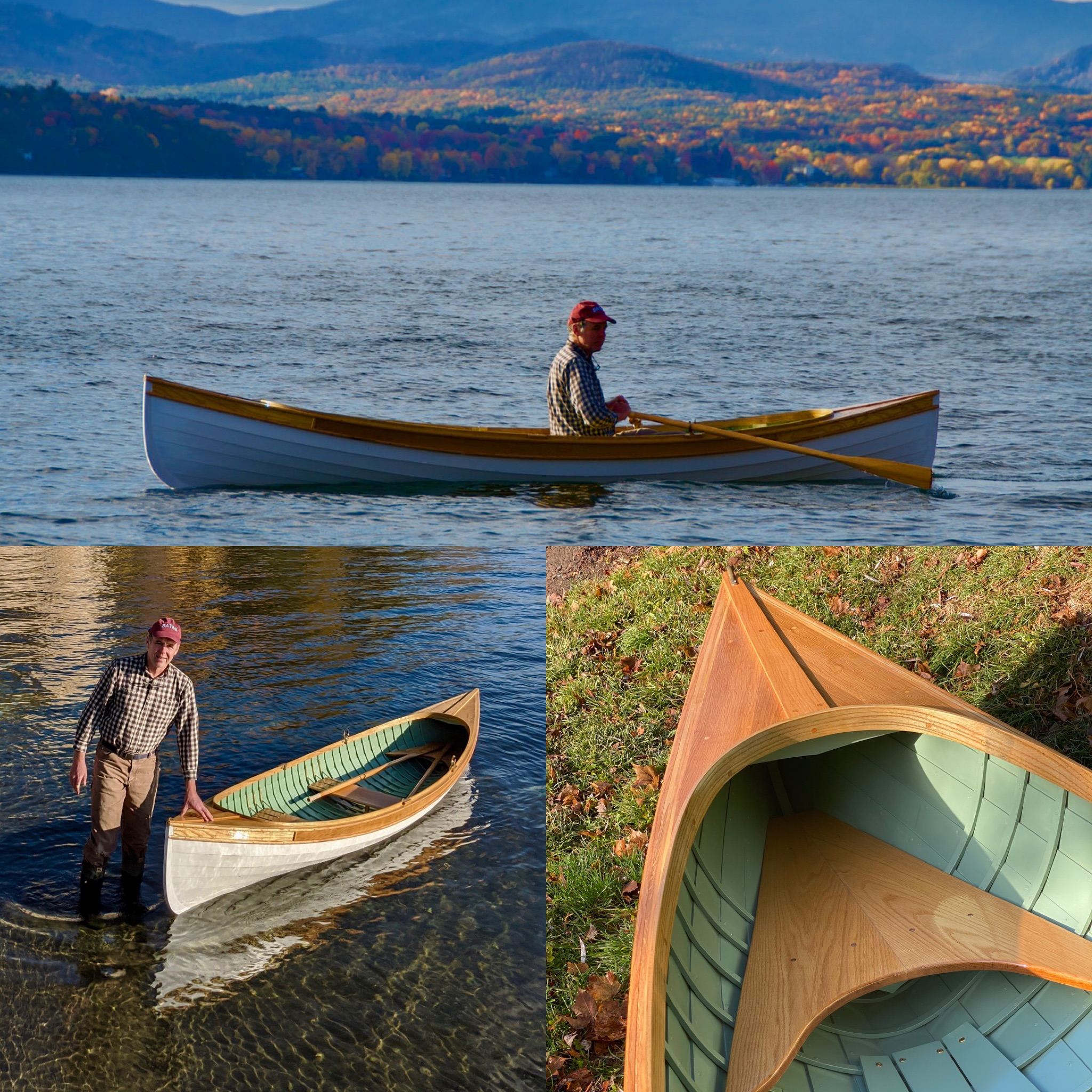 "14' 10"" St. Lawrence River Skiff Replica"