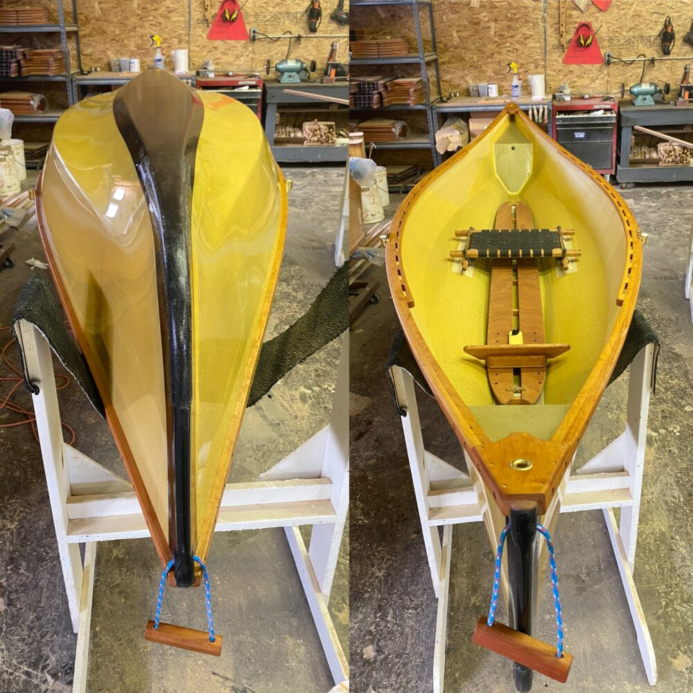 12' Solo Pack Boat Clear Skin