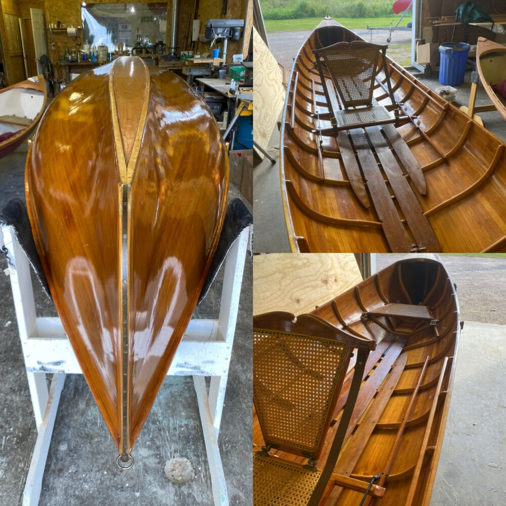 17' Cedar Adirondack Guide Boat